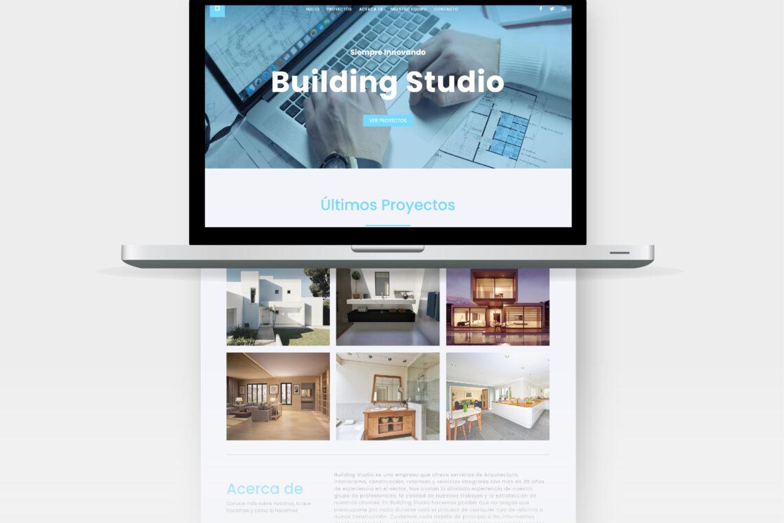 portada building web