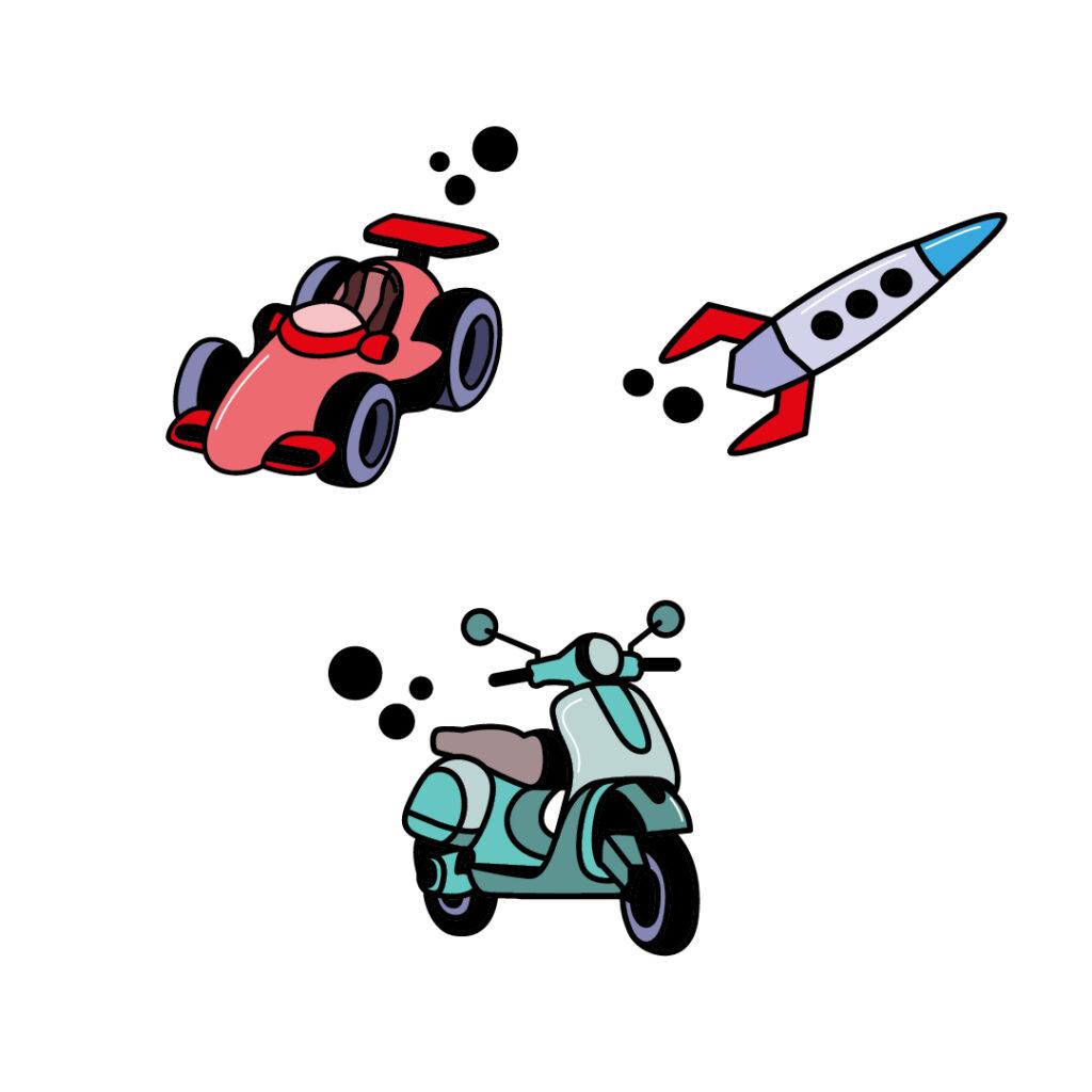 pegatinas vehiculos