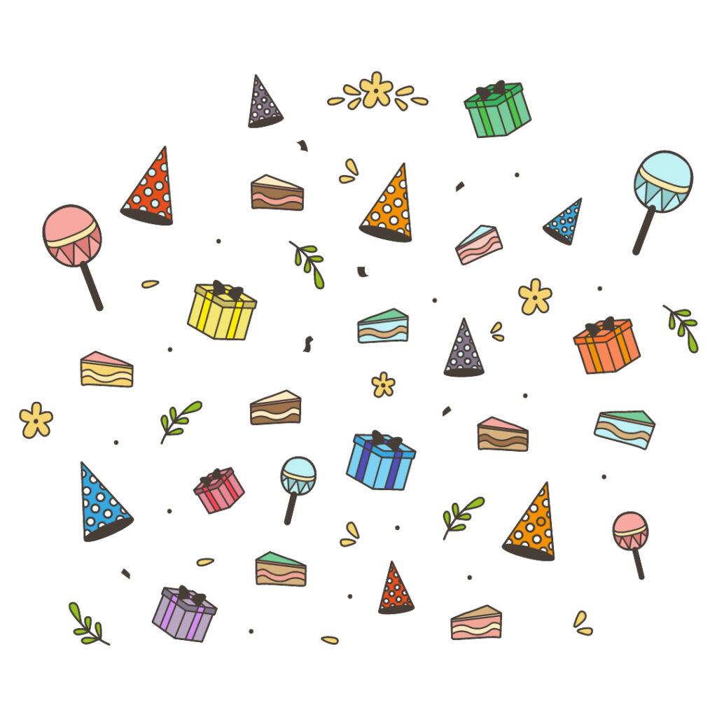 pegatinas cumpleaños